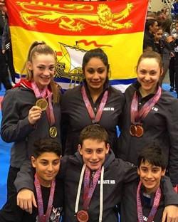 2017 Team NB Medal Winners