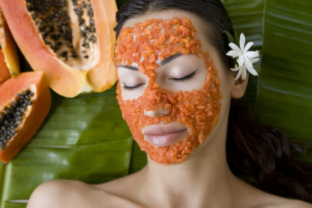 Mama Organica Papaya Facemask