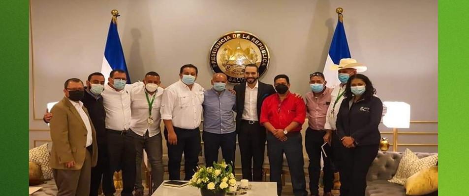PRESIDENTE DE AMHON Y ALCALDES AGRADECEN AL MANDATARIO DE EL SALVADOR POR DONACIÓN DE VACUNAS