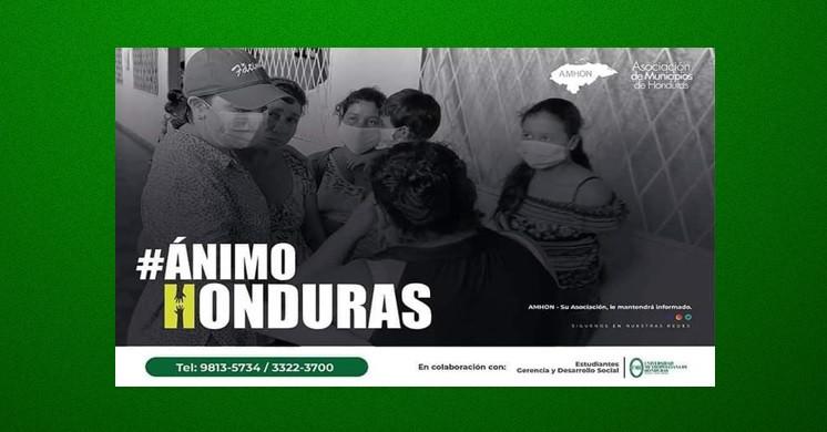 EN SOLIDARIDAD CON NUESTROS HERMANOS HONDUREÑOS AFECTADOS POR EL HURACÁN ETA