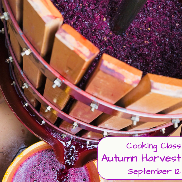 Autumn Harvest Cooking Class