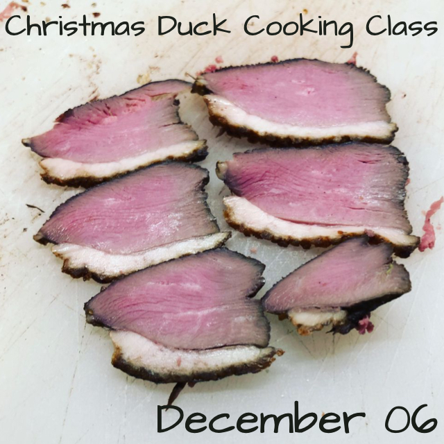 Christmas Duck Cooking Class