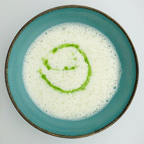 Supa crema de sparanghel alb cu patrunjel - 09:30 video