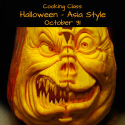 Halloween Asia Style Cooking Class