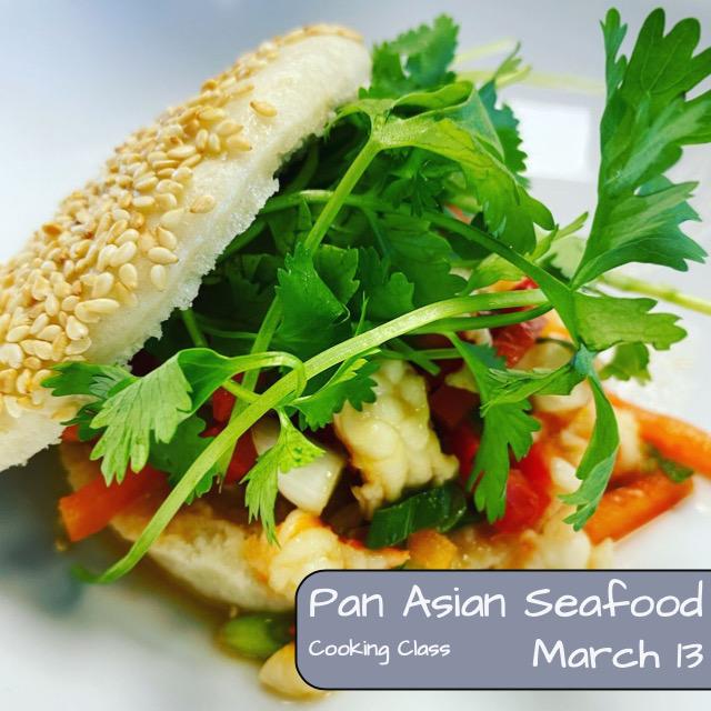 Pan Asian Seafood Cooking Class