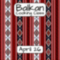 Balkan Cooking Class