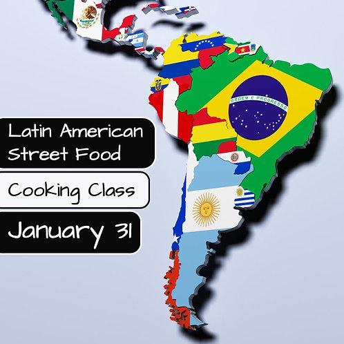 Duminica 31.01. - Ora 14:00 - Latin American Street Food - 1 Participant