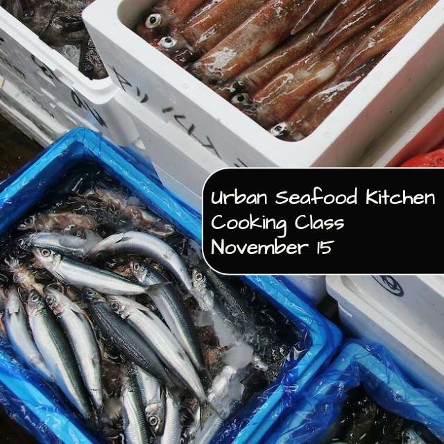 Urban Seafood Kitchen Cooking Class