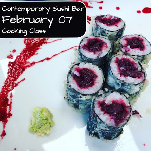 Duminica 07.02. - Ora 14:00 - Contemporary Sushi Bar - 1 Participant