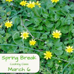 Spring Break Cooking Class