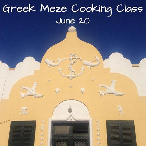 Duminica 20.06. - Ora 14:00 - Greek Meze - 1 Participant