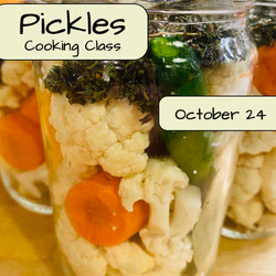 Pickles Cooking Class