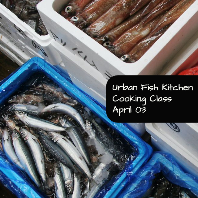 Urban Fish Kitchen Cooking Class