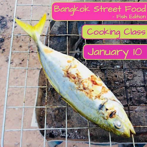 Duminica 10.01. - Ora 14:00 - Bangkok Street Food Fish Edition - 1 Participant