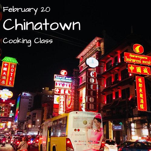 Duminica 20.02. - Ora 14:00 - Chinatown - 1 Participant