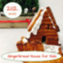 Gingerbread House for Kids Cooking Class