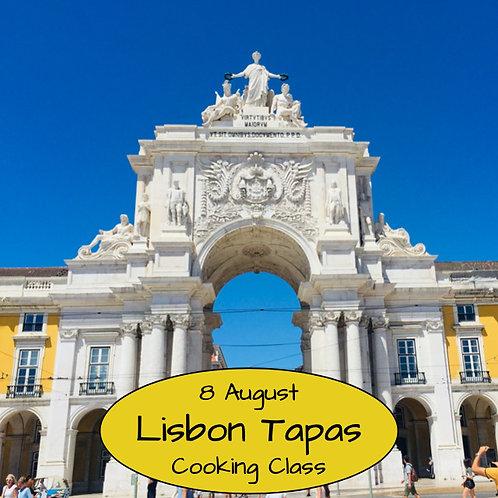 Duminica 08.08. - Ora 14:00 - Lisbon Tapas - 1 Participant
