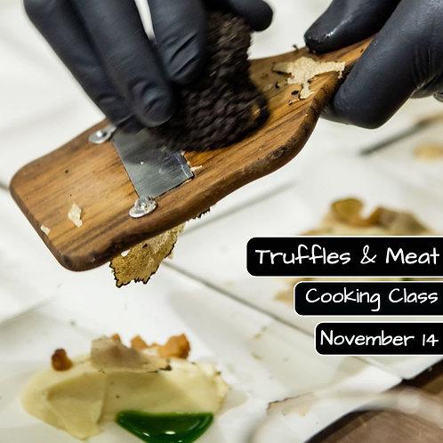 Sambata 14.11. - Ora 14:00 - Truffles & Meat - 1 Participant