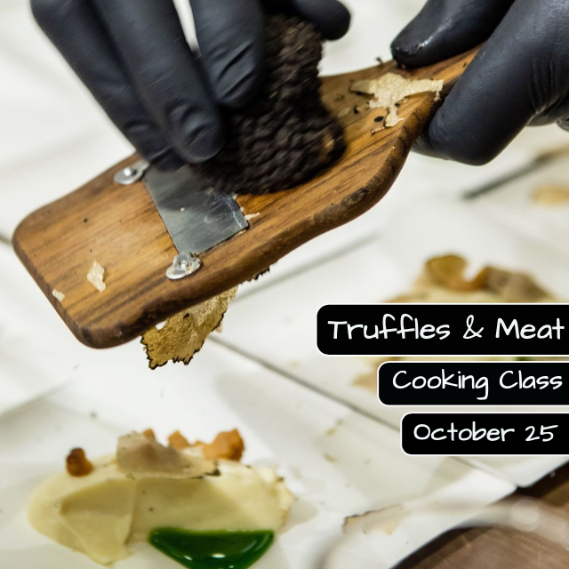 Truffles and Meat Cooking Class