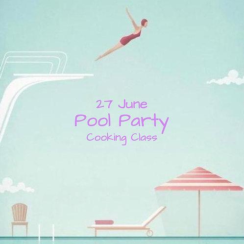 Duminica 27.06. - Ora 14:00 - Pool Party - 1 Participant