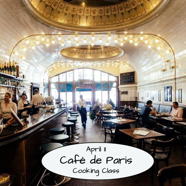 Café de Paris Cooking Class