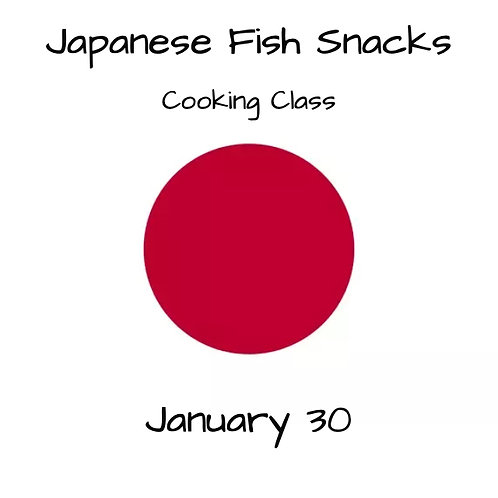Duminica 30.01. - Ora 14:00 - Japanese Fish Snacks - 1 Participant