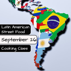 Latin American Street Food Cooking Class