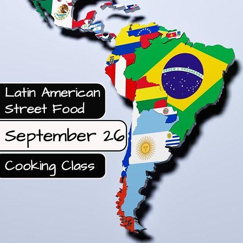 Duminica 26.09. - Ora 14:00 - Latin American Street Food - 1 Participant