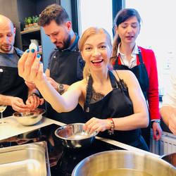 Team cooking Bucharest