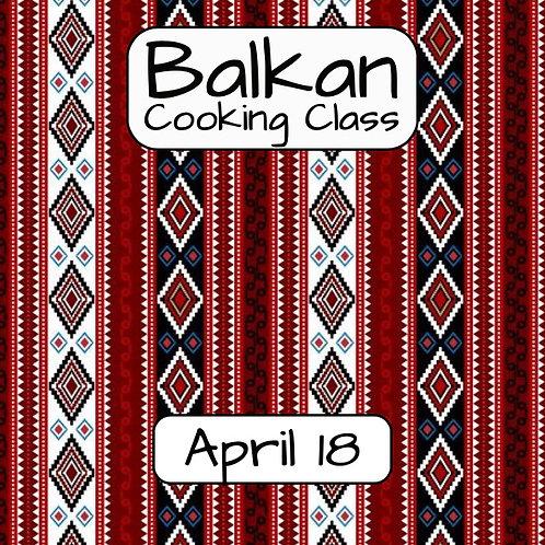 Duminica 18.04. - Ora 14:00 - Balkan - 1 Participant