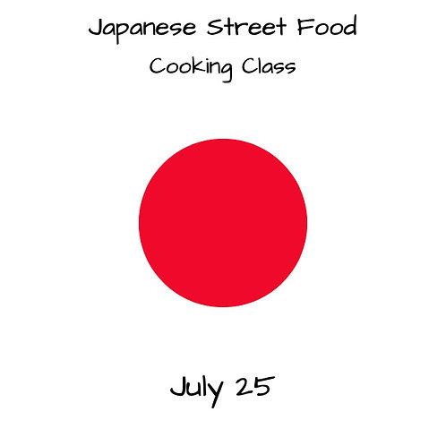 Duminica 25.07. - Ora 14:00 - Japanese Street Food - 1 Participant
