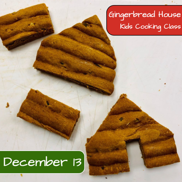 Gingerbread House Kids Cooking Class