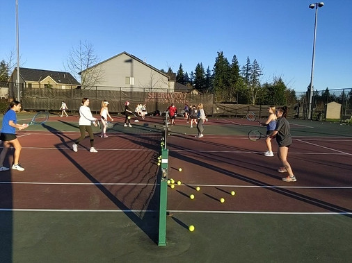 Lots of Volleying