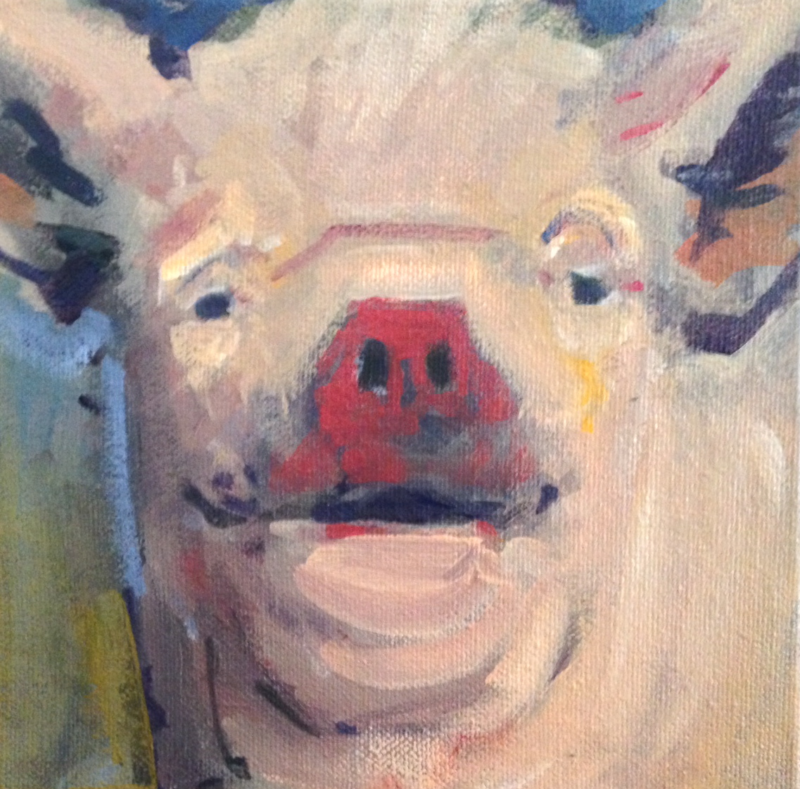 It's a Red Nose Pig, Dear