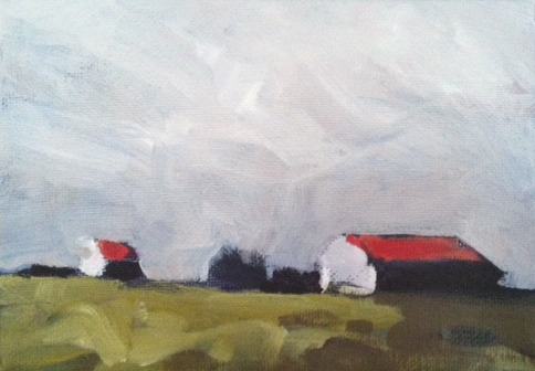 Study of Barns & Sky
