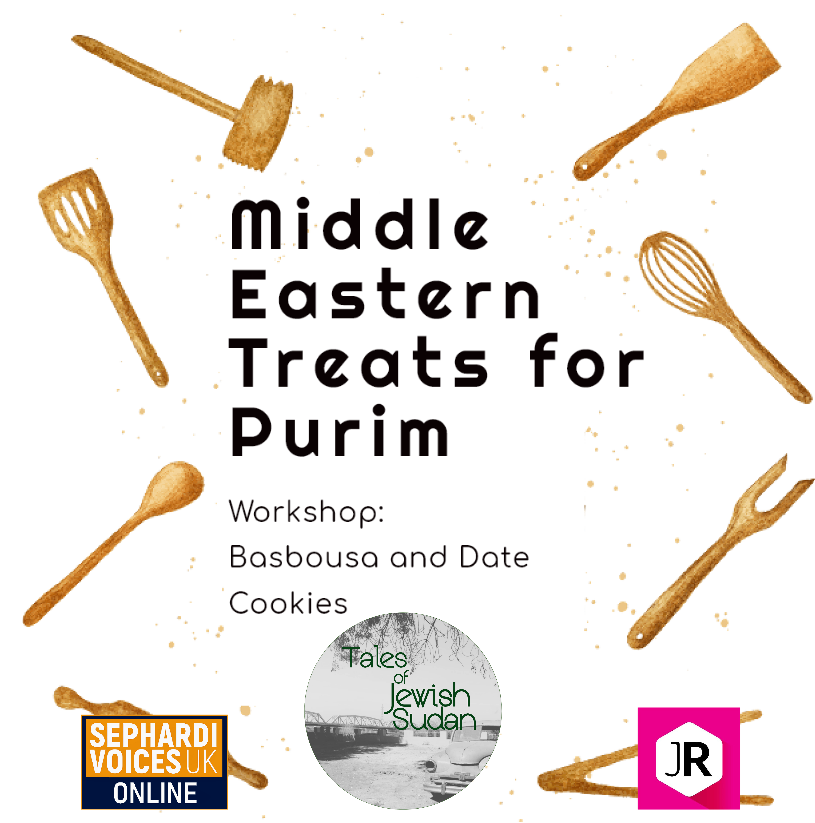Festival Food Workshop: Middle Eastern Treats for Purim
