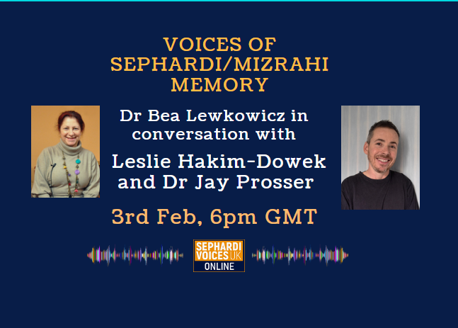 Voices of Sephardi/Mizrahi Memory