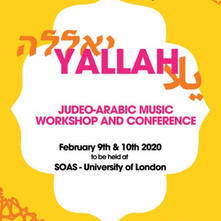 Yallah Judeo-Arabic Music Conference
