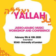 Yallah Judeo-Arabic Music Conference