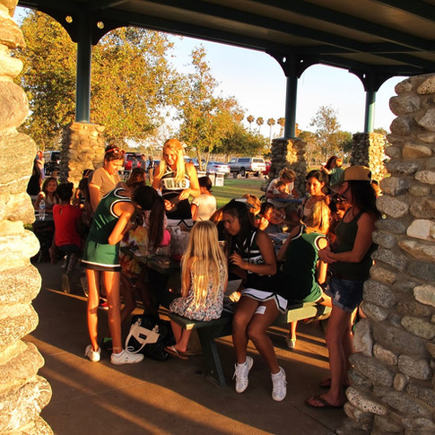 Costa Mesa High School Cherleaders