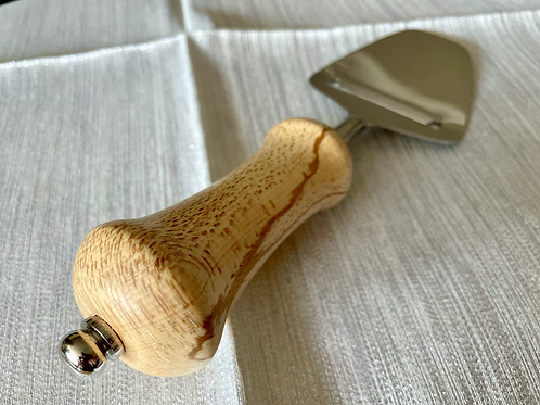 Manx Spalted Beech Cheese Slice