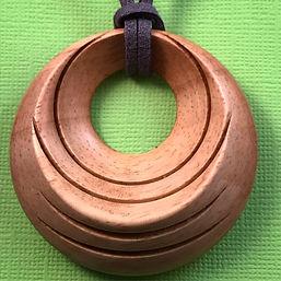 Wood Turned Pendant