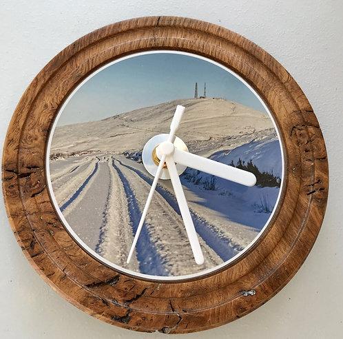 Burr Oak Clock - Snaefell Snow