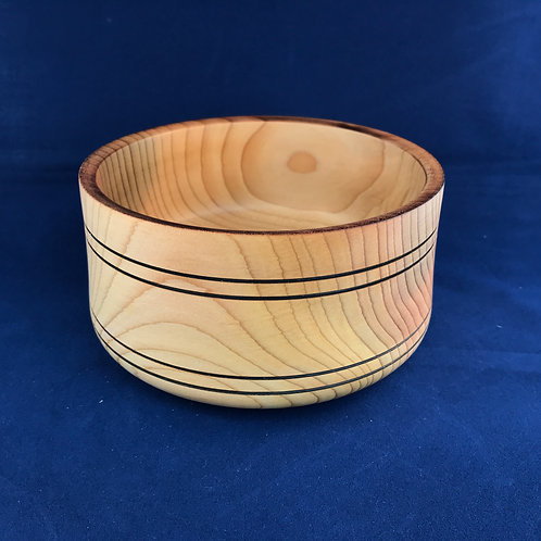 Angled Cedar Bowl