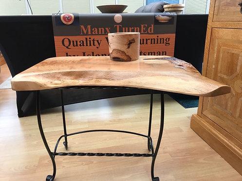 Bespoke Manx Oak Occasional Table