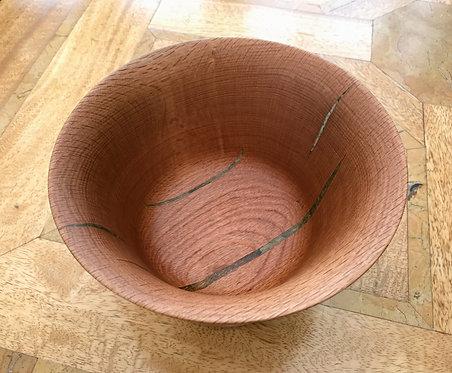Manx Oak Tall Bowl