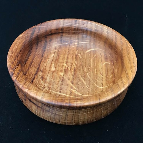 Oak Fluted Rim Bowl