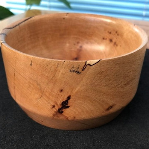 Manx Spalted Beech Tall Bowl