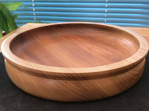 Traditionally Styled Elm Bowl