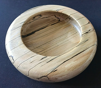 Spalted Beech Shallow Bowl